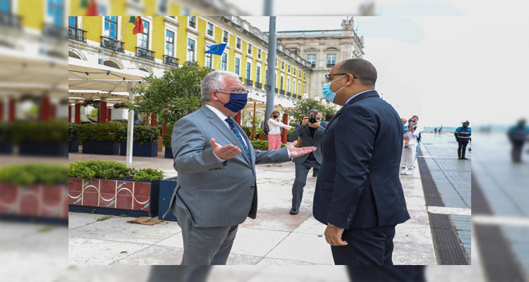 هشام المشيشي يلتقي وزير الداخلية البرتغالي