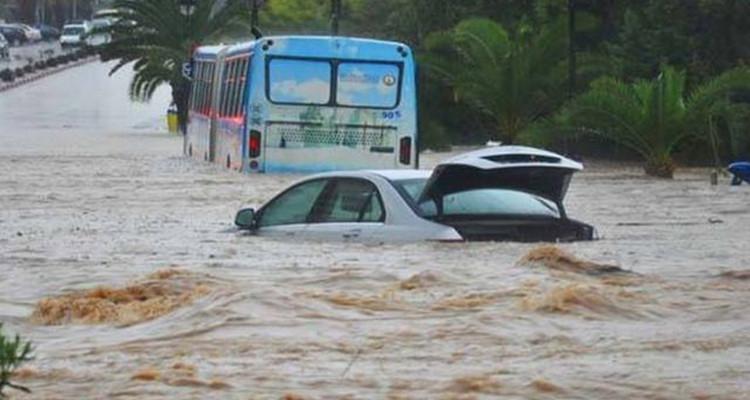 الجزائر فيضانات 4 قتلى