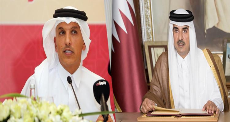 أمير قطر يقيل وزير المالية الموقوف ويجرده من امتيازاته الوظيفية