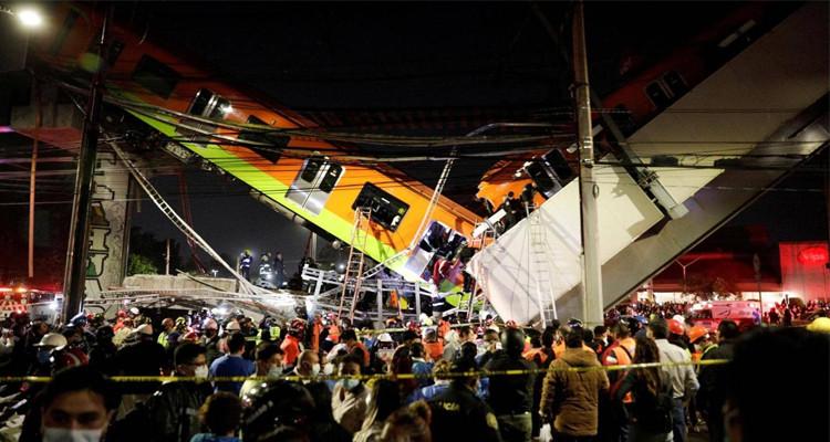 عشرات القتلي في انهيار جسر بالمكسيك