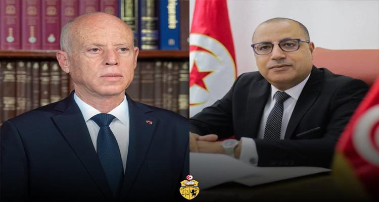 رئيس الحكومة يتبادل التهاني بعيد الفطر مع رئيس الدولة
