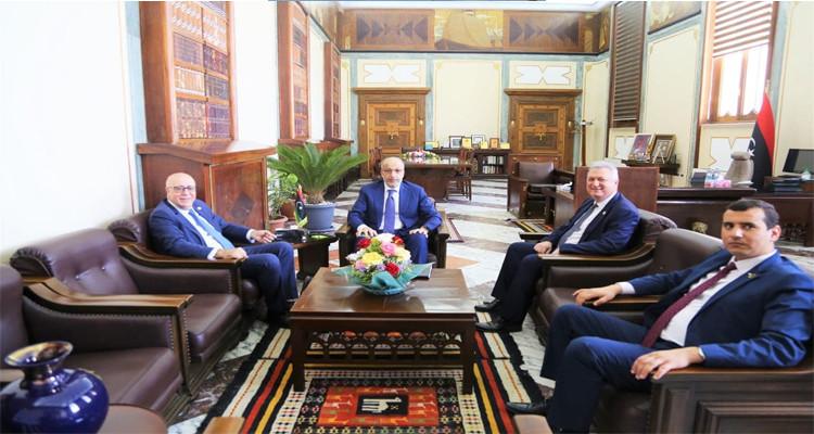 مروان العباسي ليبيا بنك المركزي