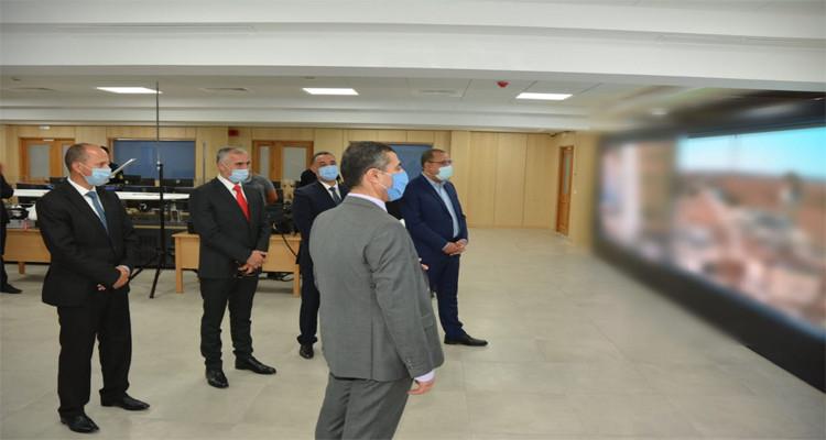 المشيشي قاعة العمليات وزارة الداخلية