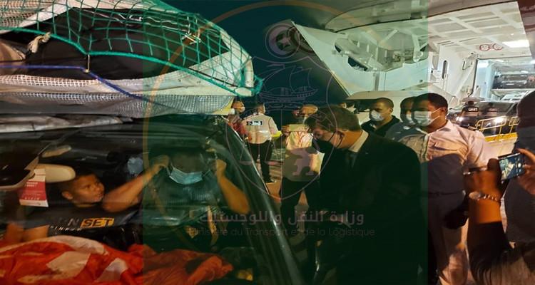 وزارة النقل تقرر إجبار خضوع المسافرين بالموانئ للتحاليل السريعة
