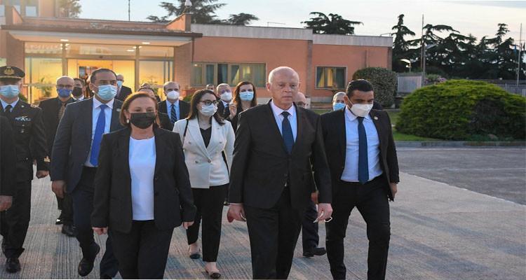 رئيس الدولة ينهي زيارته إلى إيطاليا