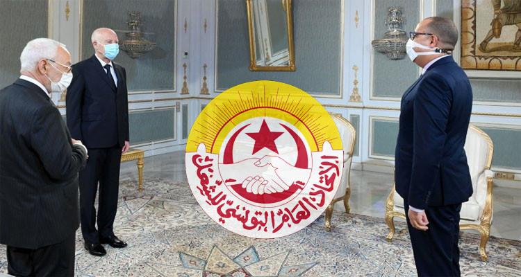 اتحاد الشغل يهاجم الرؤساء الثلاثة ويذكّر بتجنيبه تونس حمام دم سنة 2013
