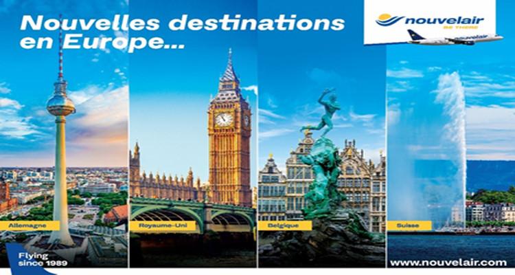Nouvelair dessert 18 destinations en Europe