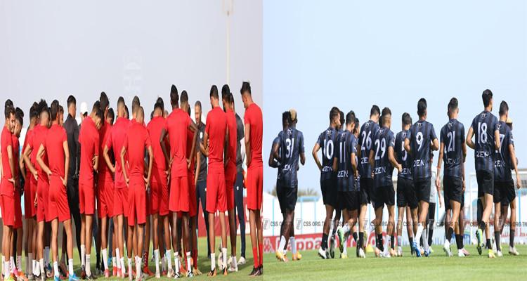 التشكيلتان الأساسيتان لكل من النادي الافريقي والنادي الصفاقسي
