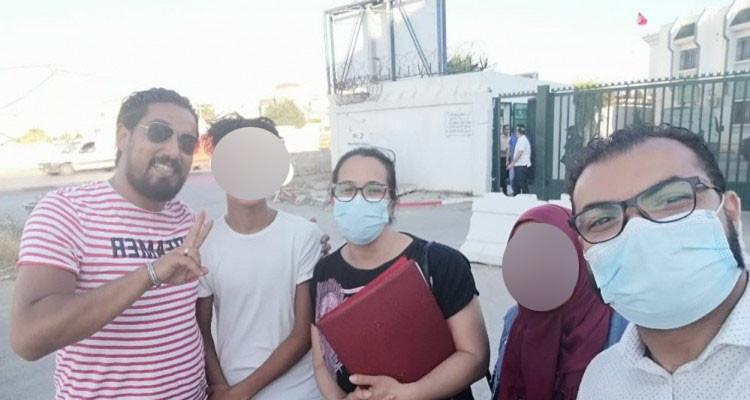 فرقة مكافحة الإجرام بالحرس الوطني تستمع لطفل سيدي حسين ووالدته