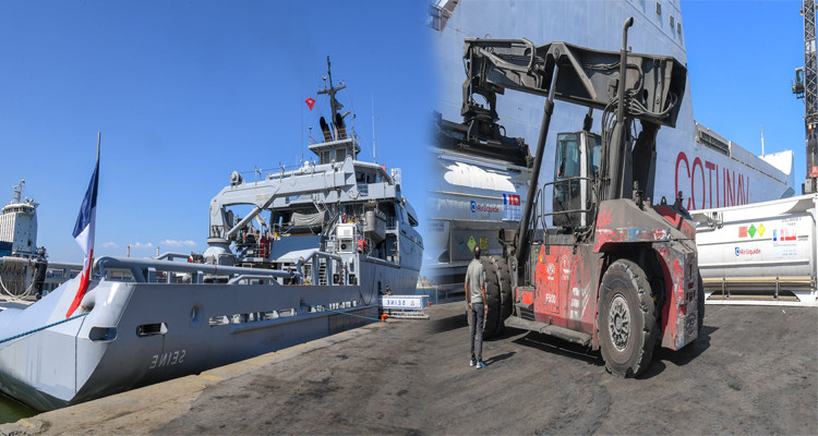 فرنسا تعلن إنشاء جسر بحري مع تونس لتأمين وصول المساعدات الطبية