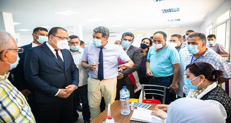 هشام المشيشي: وفرنا الاعتمادات اللازمة لاقتناء 14 مليون جرعة لقاح ضد كوفيد