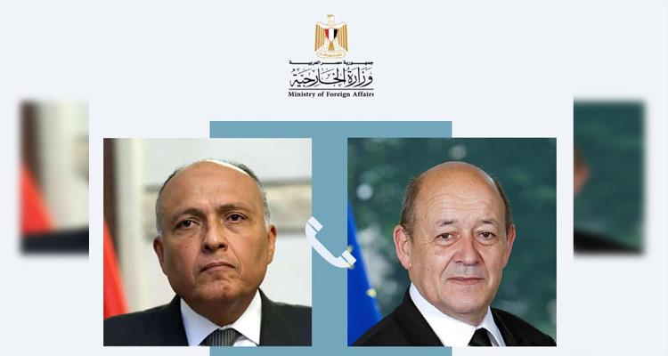 مصر وفرنسا تؤكدان ضرورة احترام إرادة الشعب التونسي ودعم مؤسسات دولته
