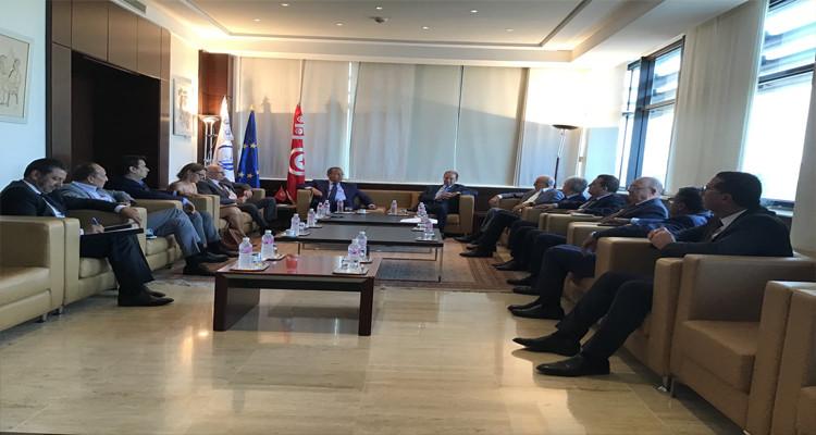 سفير الاتحاد الأوروبي بتونس في ضيافة منظمة الأعراف