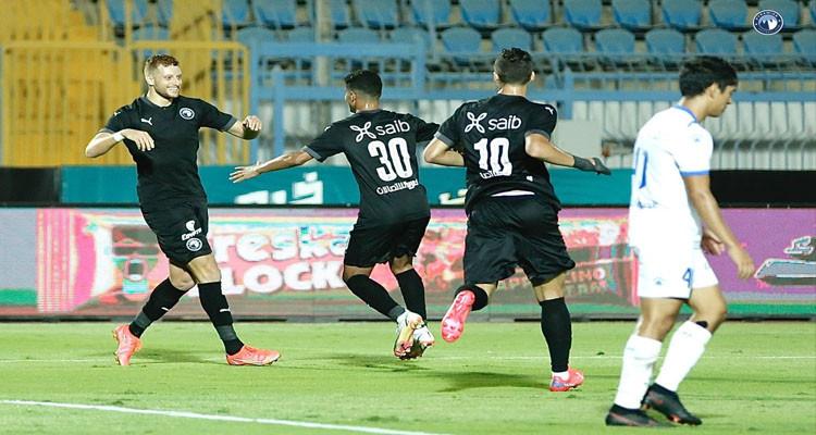 فخر الدين بن يوسف يسجل اول أهدافه مع نادي بيراميدز المصري(فيديو)