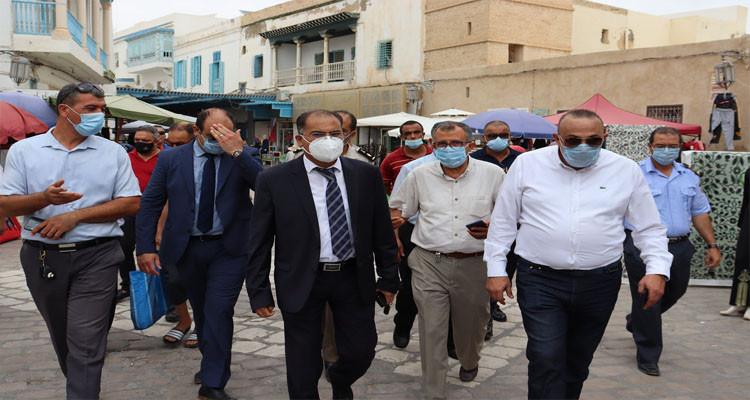 والي القيروان محمد بورقيبة حملة