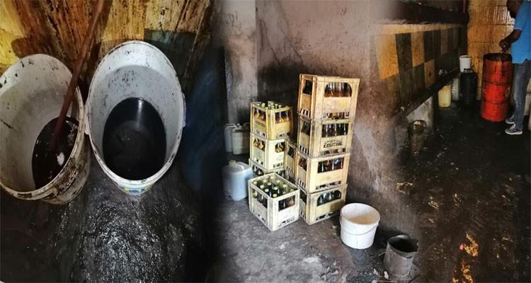 يخلط الزيت النباتي المدعم بالملوخية ويوهم المشترين أنه ''زيت زيتون''