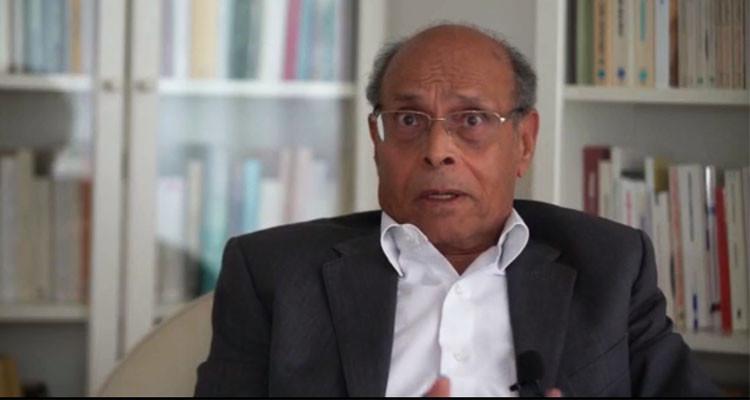 منصف المرزوقي: لا بد من عزل قيس سعيّد وإحالته على القضاء (فيديو)