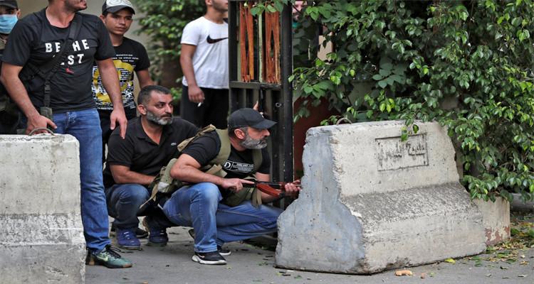الجيش اللبناني يلقي القبض على عدد من الضالعين في تبادل اطلاق النار ببيروت