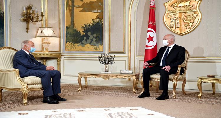 أبوالغيط: الرئيس سعيّد عازم على استعادة الدولة الوطنية ومنح الشعب فرصته