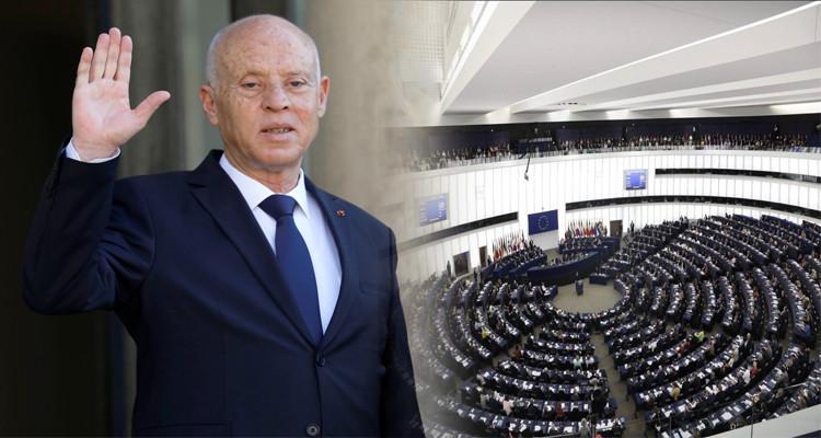 قيس سعيد البرلمان الأوروبي