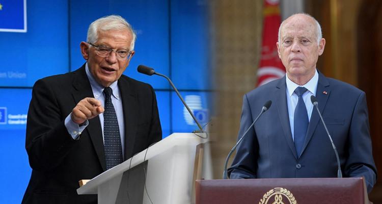 الاتحاد الأوروبي يشيد باعتزام الرئيس سعيّد إنهاء مرحلة التدابير الاستثنائية