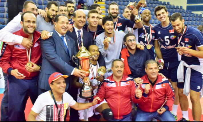 La Tunisie championne d'Afrique en volley-ball