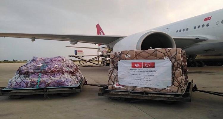 مساعدات طبية تركية