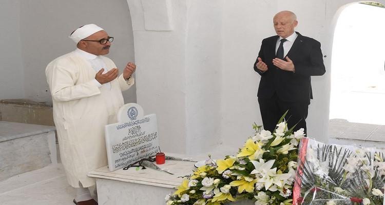 رئيس الجمهورية يزور البراهمي وبلعيد وصالح بن يوسف