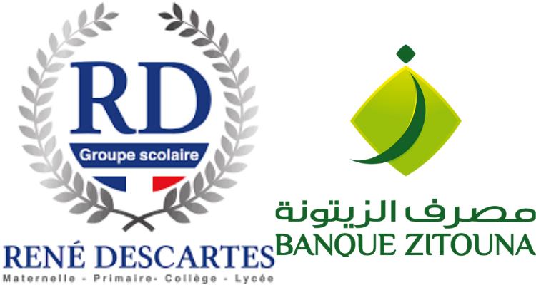 Groupe Scolaire René Descartes et Banque Zitouna