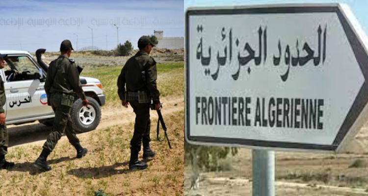 إجتياز الحدود الجزائرية خلسة
