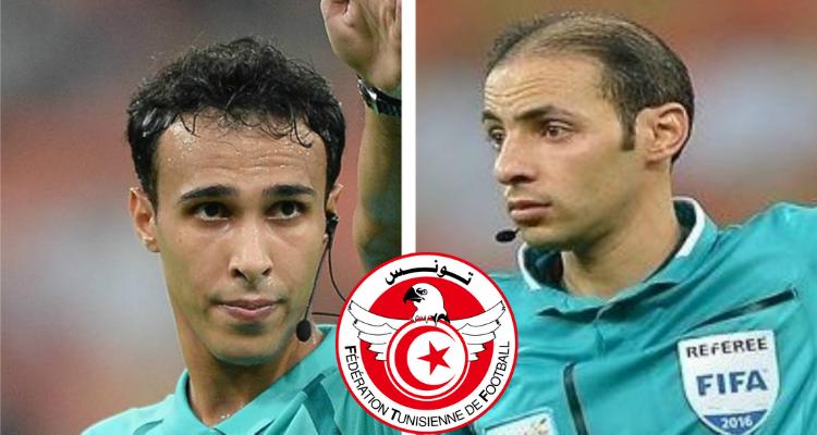 حكام سعوديين  الجامعة التونسية لكرة القدم