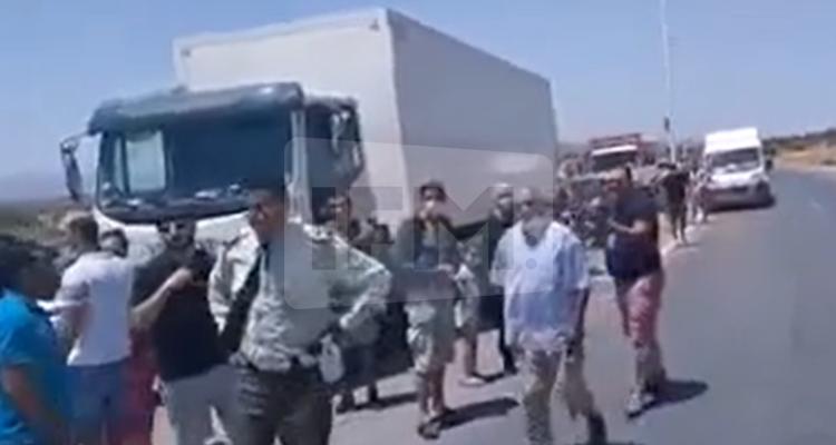 الأمن يغلق مداخل مدينة الحمامات
