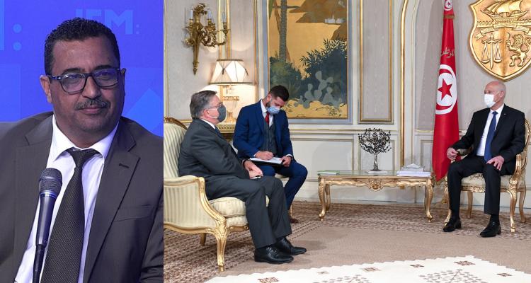ابراهيم الرزقي رئيس الجمهورية التونسية