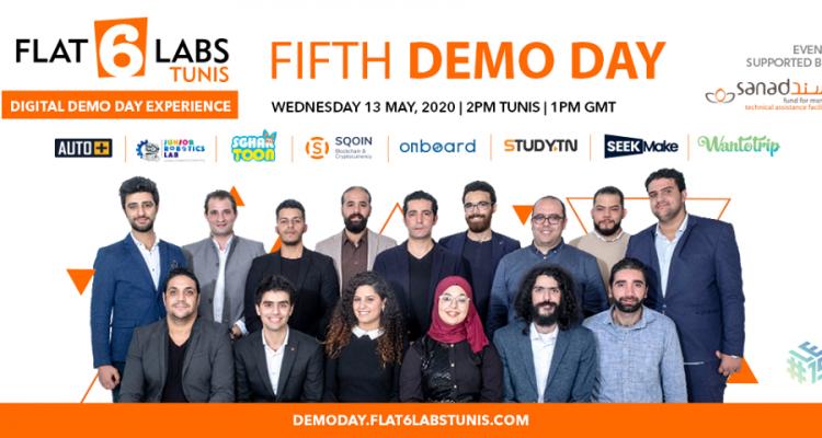 Flat6Labs célèbre son Cinquième cycle et organise son premier Demo Day Virtuel