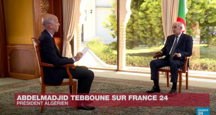 الرئيس الجزائري يُطالب فرنسا بالاعتذار عن استعمارها لبلده (فيديو)