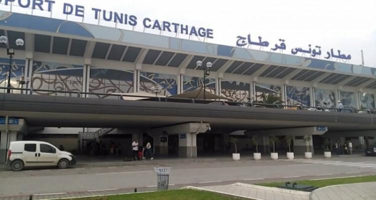 """إصابة أحد أعوان الـ""""تونيسار"""" في مطار قرطاج بكورونا"""