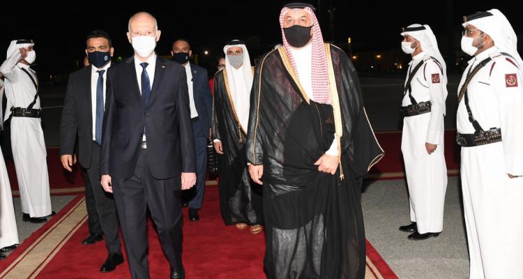 رئيس الجمهورية يغادر الدوحة عائدا إلى تونس