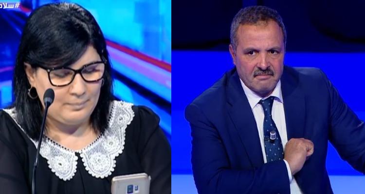 عبداللطيف المكي لعبير موسي'' البلاد مش على كيفكم وعلى الدولة  أن تتحمل مسؤليتها''