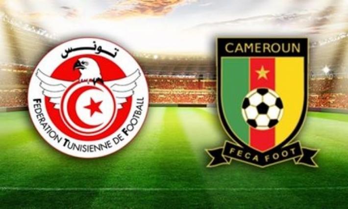 Tunisie  Vs Cameroun en match amical