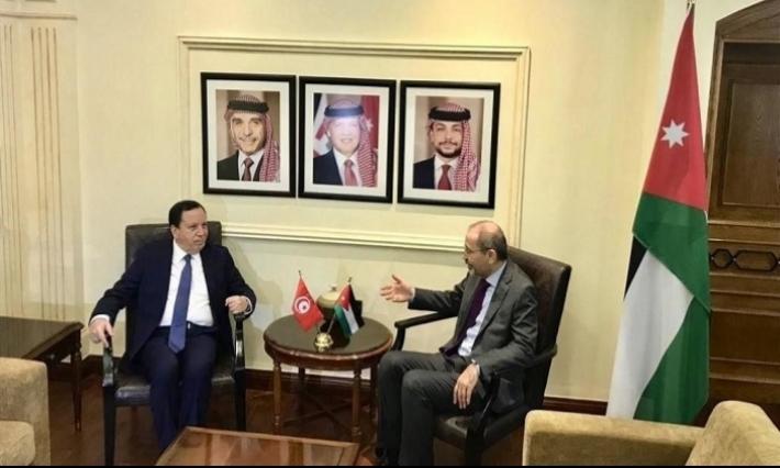 تونس والأردن يجددان إدانتهما للممارسات الإسرائيلية