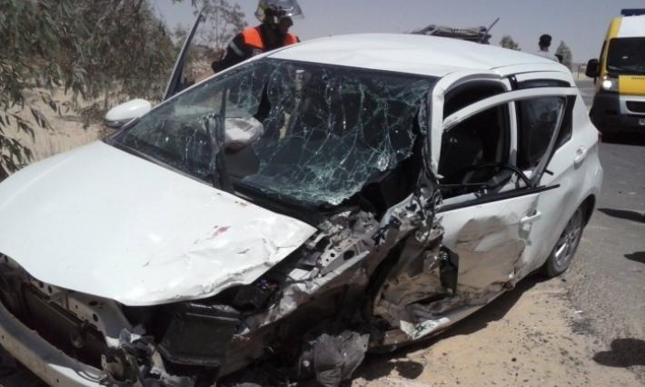 أريانة: وفاة 5 أشخاص وإصابة إثنين في حادث مرور في سيدي صالح