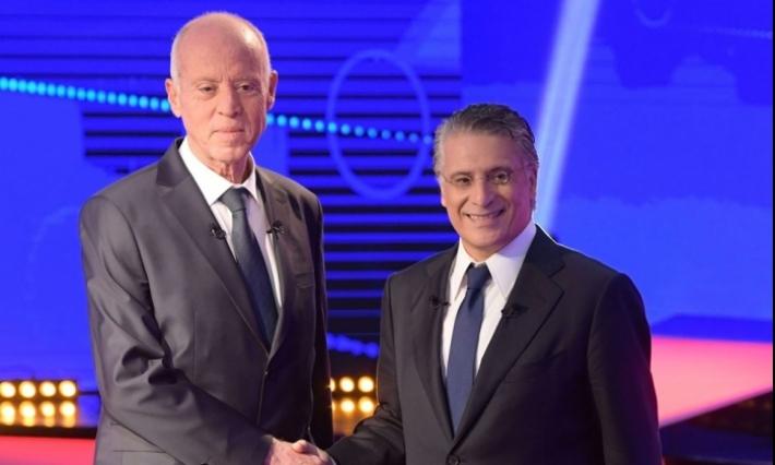 رئاسية 2019- الدور الثاني: توزيع نسب التصويت لكل من قيس سعيد ونبيل القروي حسب الدوائر