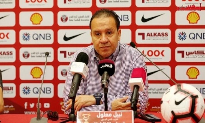 نبيل معلول: بقاء الاسباني سانشيز وصفة نجاح قطر في  مونديال 2022