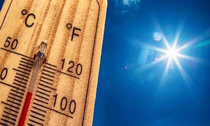 Températures maximales comprises entre 34 et 44°C