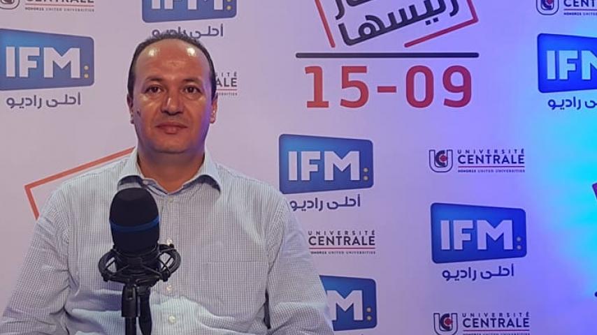 Hatem Mliki représentant du candidat Nabil Karoui