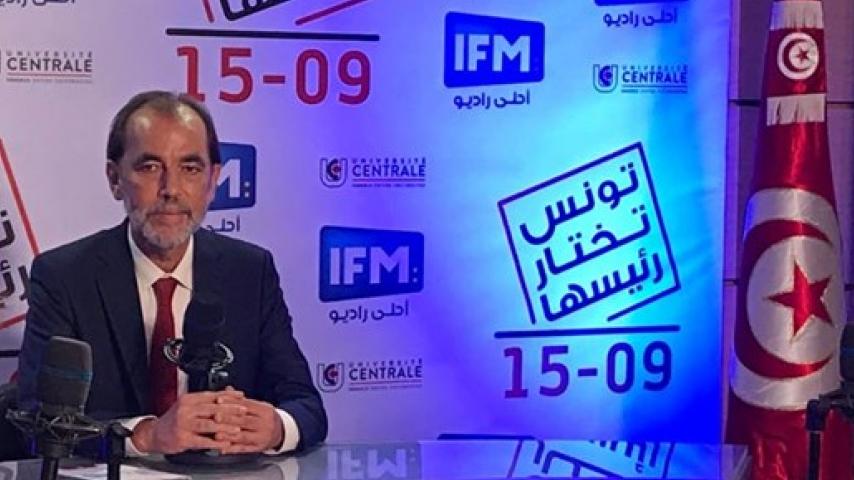 السيد سعيد العايدي ضيف خلود المبروك في 15-9
