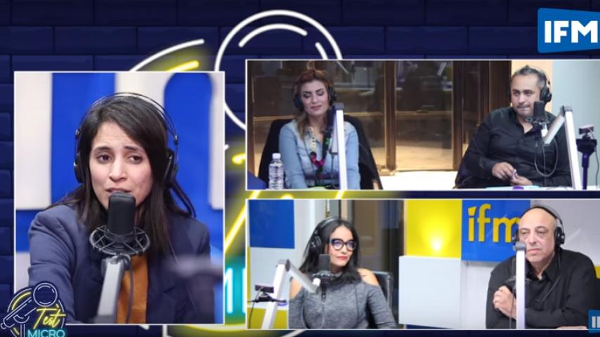 نبيل بن زكري في تعليق على رفع شعار رابعة في برنامج على القناة الوطنية: الشهرة لا تشترى بفضيحة