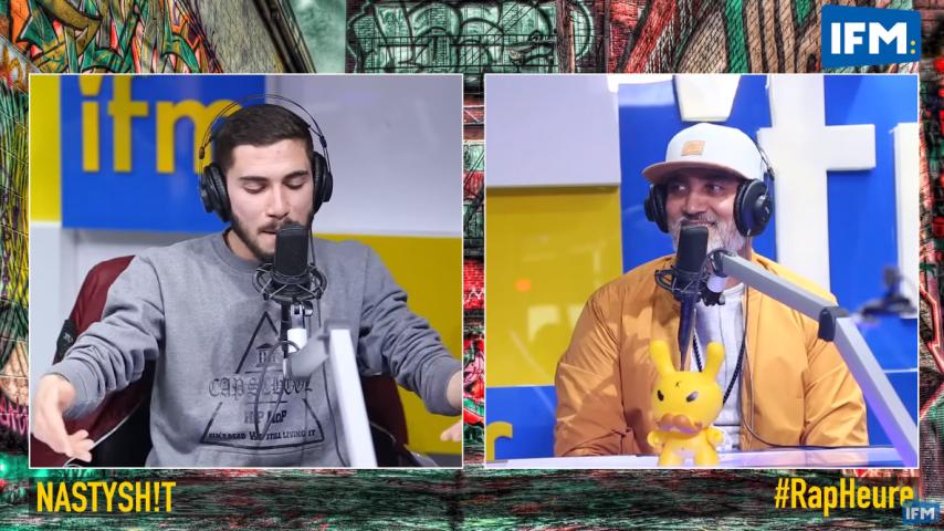 Rap Heure : Nastysh!t يغني غناية بلحسن Empire