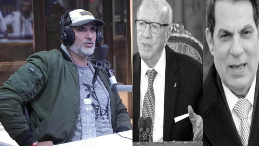 الاعلامي كريم كوكي: حتى سياسي ما حب يتعظ من وفاة بن علي و السبسي !