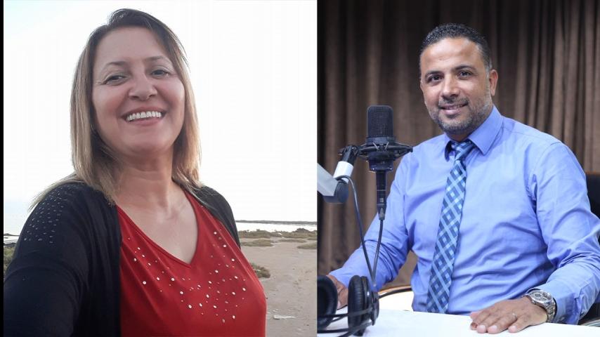 مشادة الكلامية بين سيف مخلوف و الأمينة العامة لحركة شباب تونس الوطني